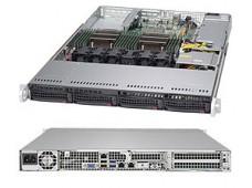 Серверная платформа SUPERMICRO 1U BLACK SYS-6018R-TDW SATA