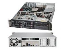 Серверная платформа SUPERMICRO 2U  BLACK SYS-6028R-WTR SATA